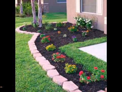 Easy DIY landscaping projects ideas - YouTube