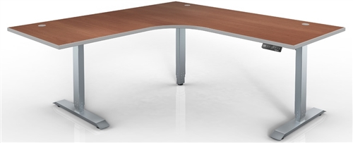 HAT HI-Series - Electric Height Adjustable Desk - L-Shape 48