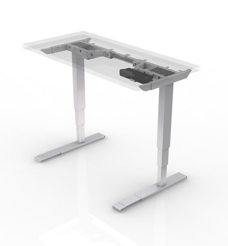 All-Flex 2-Leg Electric Height Adjustable Table Base