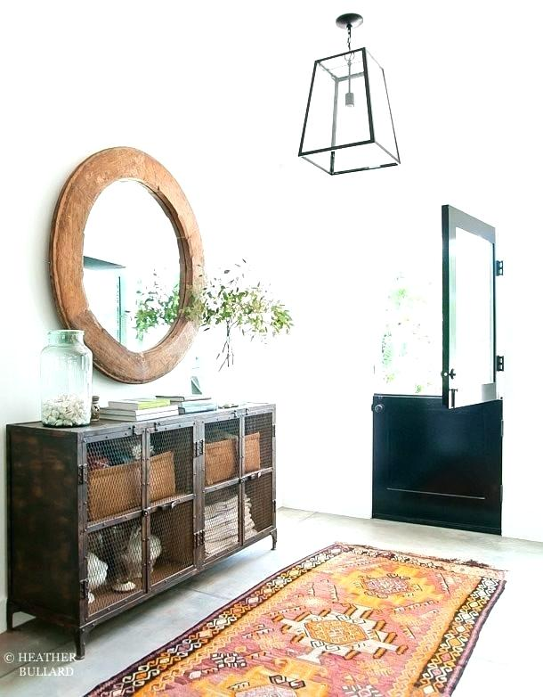 Entry Way Mirror Entryway With Coat Hooks Shelf Modern C