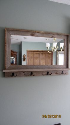 16 Best Mirror with hooks images | Coat stands, Diy ideas for home