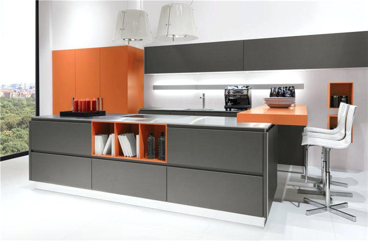 Kitchen Cabinet European Style Style Modern High Gloss Kitchen