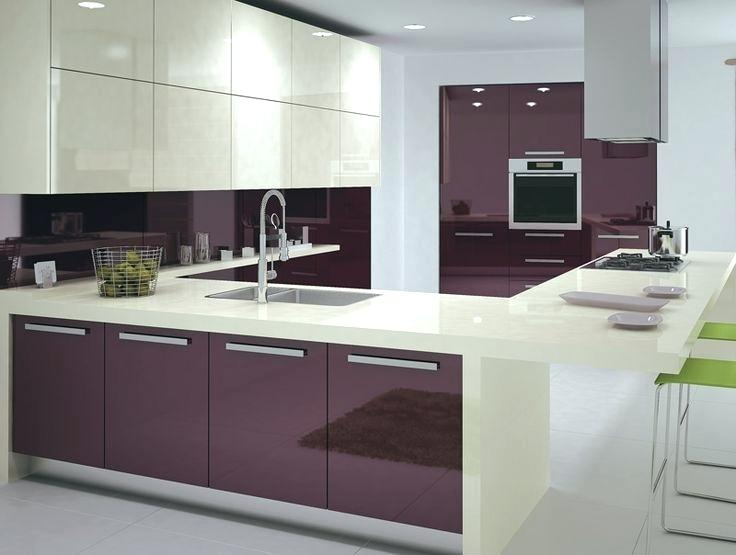 European Kitchen Cabinet Doors Interior Style Modern High Gloss