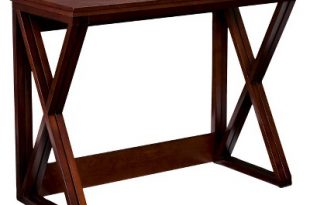 Expandable Counter Height Table - Coffee - Aiden Lane : Target