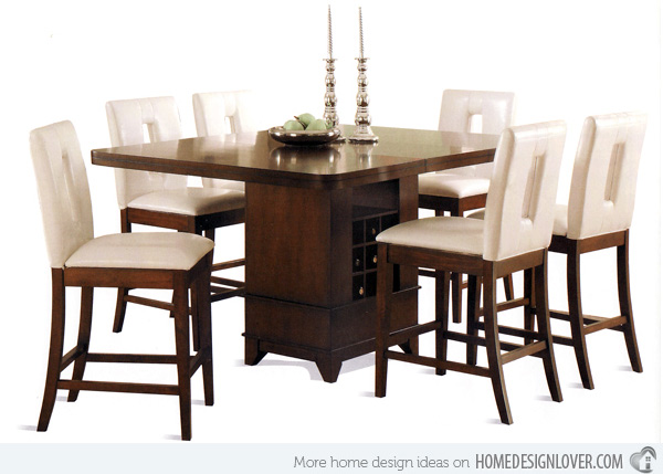 Counter Height Extendable Dining Table - Thetastingroomnyc.com