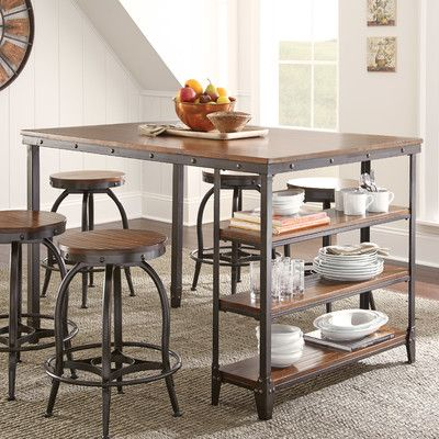 Expandable Counter Height Table   zybrtooth.com