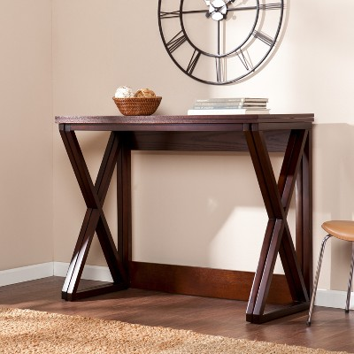 Expandable Counter Height Table - Coffee (Brown) - Aiden Lane