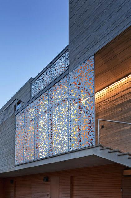 Magnificent Exterior Window Privacy Screens Laser Cut Metal Panels