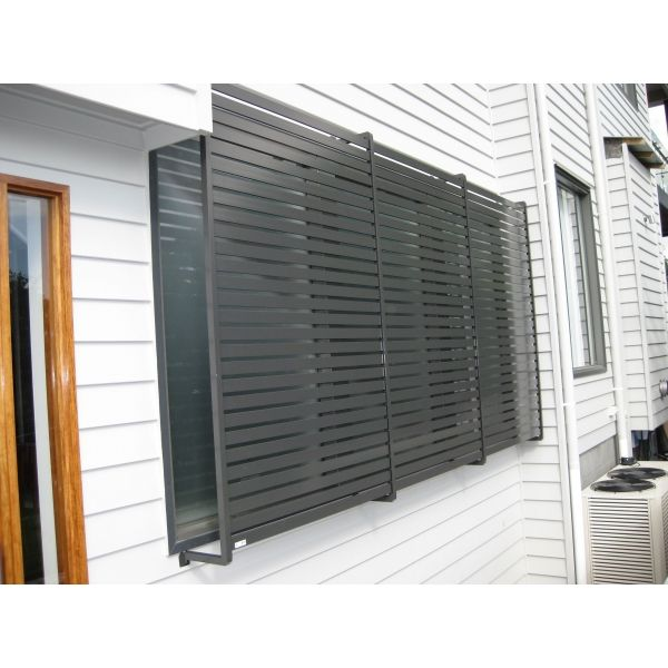Exterior Window Privacy Screens