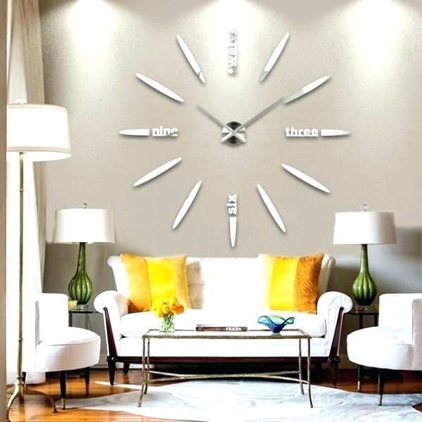 Oversized Decorative Wall Clocks Foter Extra Large - mlee.us