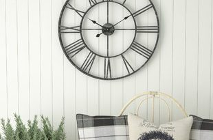 Oversized Wall Clocks You'll Love | Wayfair
