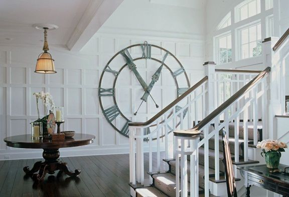 Pin by Cheri Egge on Just Great Ideas in 2019 | Big wall clocks