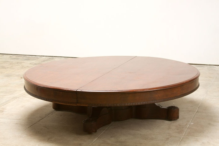Extra Large Round Coffee Table