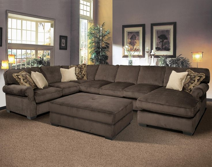 Captivating Large Sectional Sofas With Chaise Grand Island The