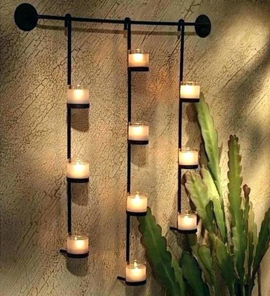 Metal Wall Sconces For Candles Large Wall Sconces Large Metal Wall