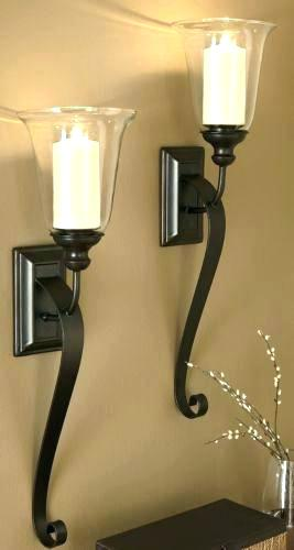 Large Wall Sconces Wonderful Large Wall Sconce Plug In Wall Sconces