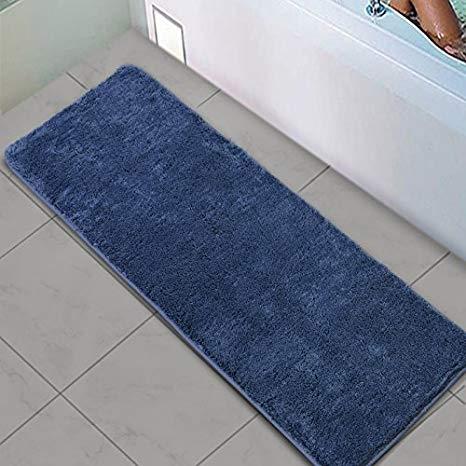 Amazon.com: Shaggy Bathroom Runner Rug, Uphome Microfiber Non-Slip