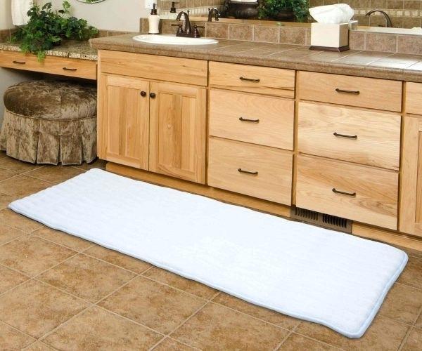 Bath Runner Rugs 2018 Extra Long Bathroom Runner Rugs Medium Size Of