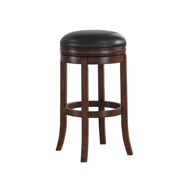 Shop Shelby 34-inch Extra Tall Swivel Bar Stool by Greyson Living