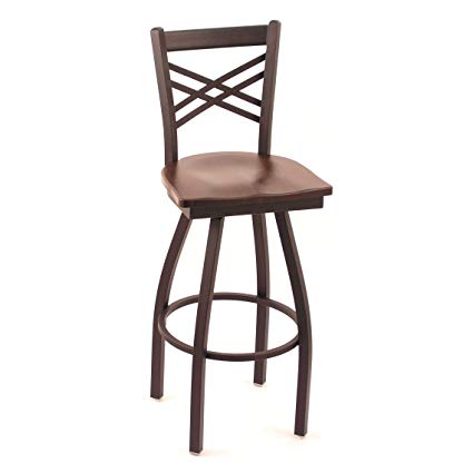 Amazon.com: Holland Bar Stool Cambridge Dark Cherry Oak Extra Tall