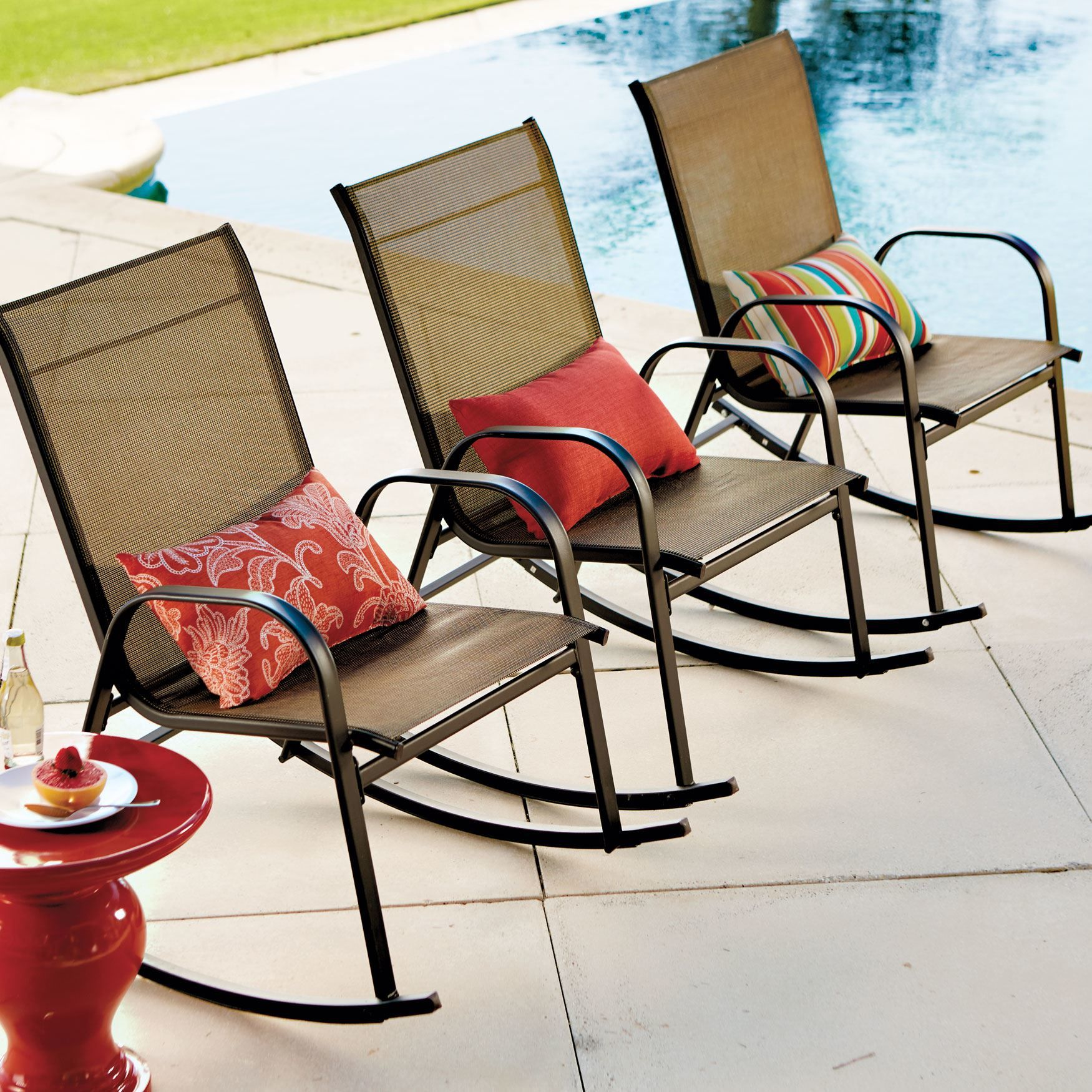 Extra Wide Outdoor Rocking Chair | Plus Size Outdoor Chairs