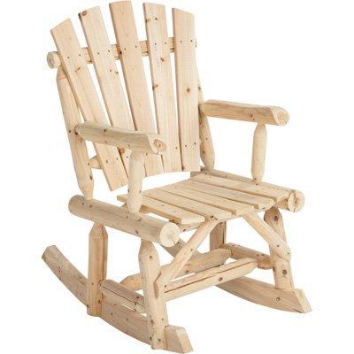 Amazon.com : Cedar/Fir Wooden Outdoor Rocking Chair : Adirondack