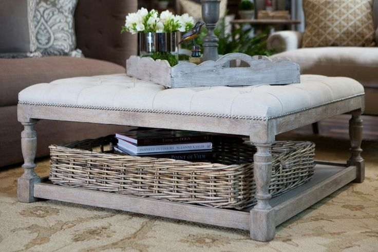 Excellent Upholstered Coffee Table Ideas | Spanishorientation.com