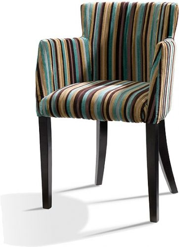 low back upholstered dining chairs with arms | Whether it be