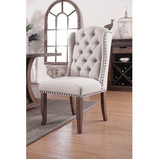 Printed Fabric Dining Chairs | Wayfair