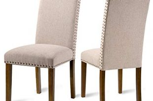 Amazon.com - Merax PP036415 Fabric Upholstered Dining Chairs Set of