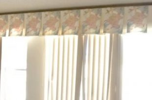 Valance Ideas for Vertical Blinds: Crown Your Windows | ZebraBlinds