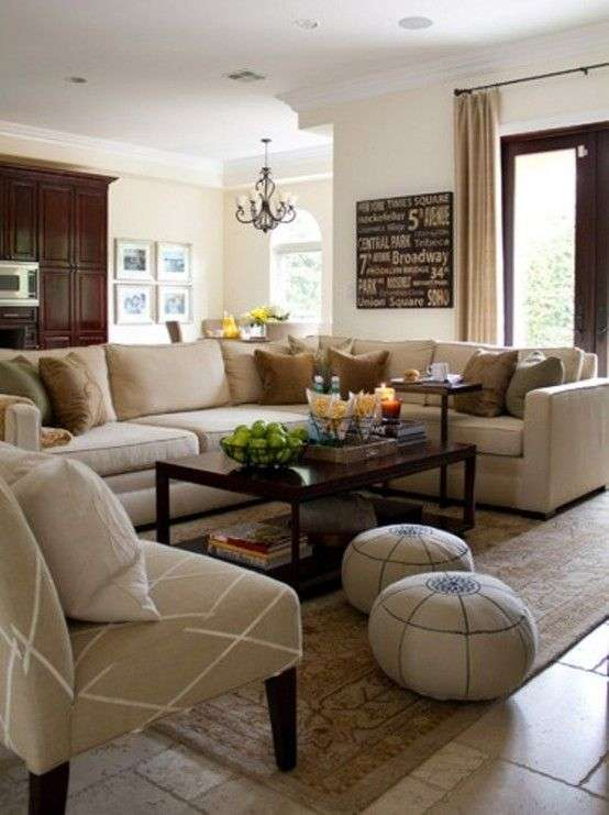Amazing Family Room Decorating Ideas Traditional Of 85 Best Beige