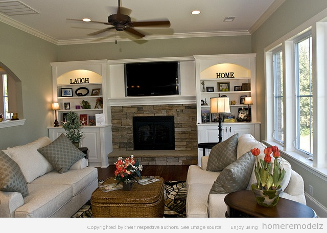 Living Rooms Without Family Room Design Ideas With Fireplace