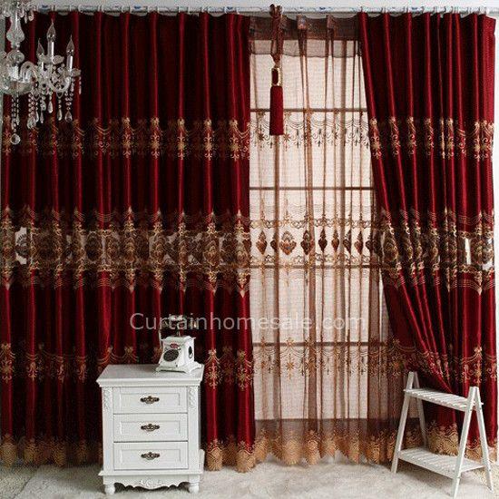 living room fancy curtains - Living Room Design | window fashion