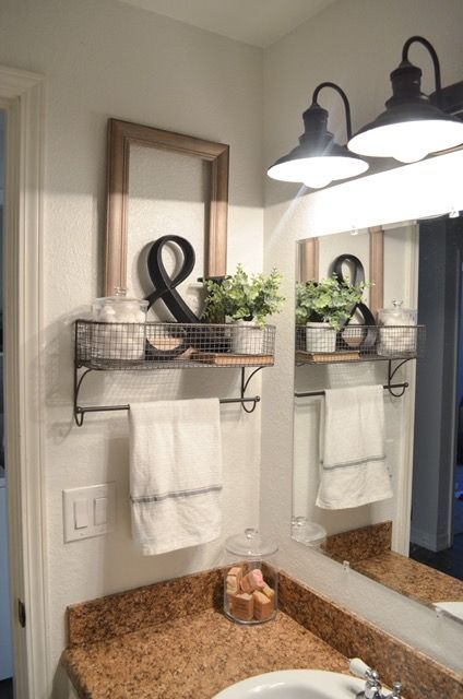 Farmhouse Bathroom Organization | Organization Ideas | Farmhouse