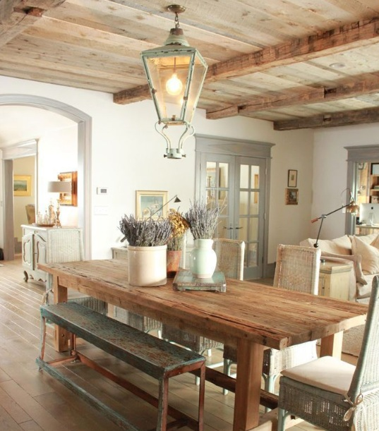 Farmhouse Dining Room Lighting Ideas With Regard To Inspirations 8