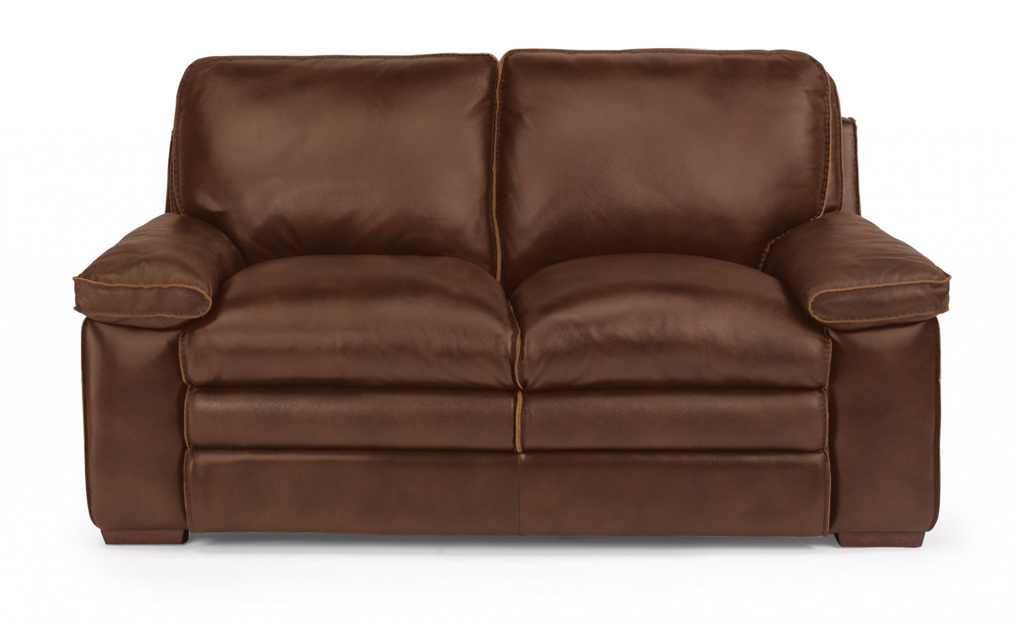 Flexsteel Living Room Leather Loveseat 1774-20 - Bacons Furniture