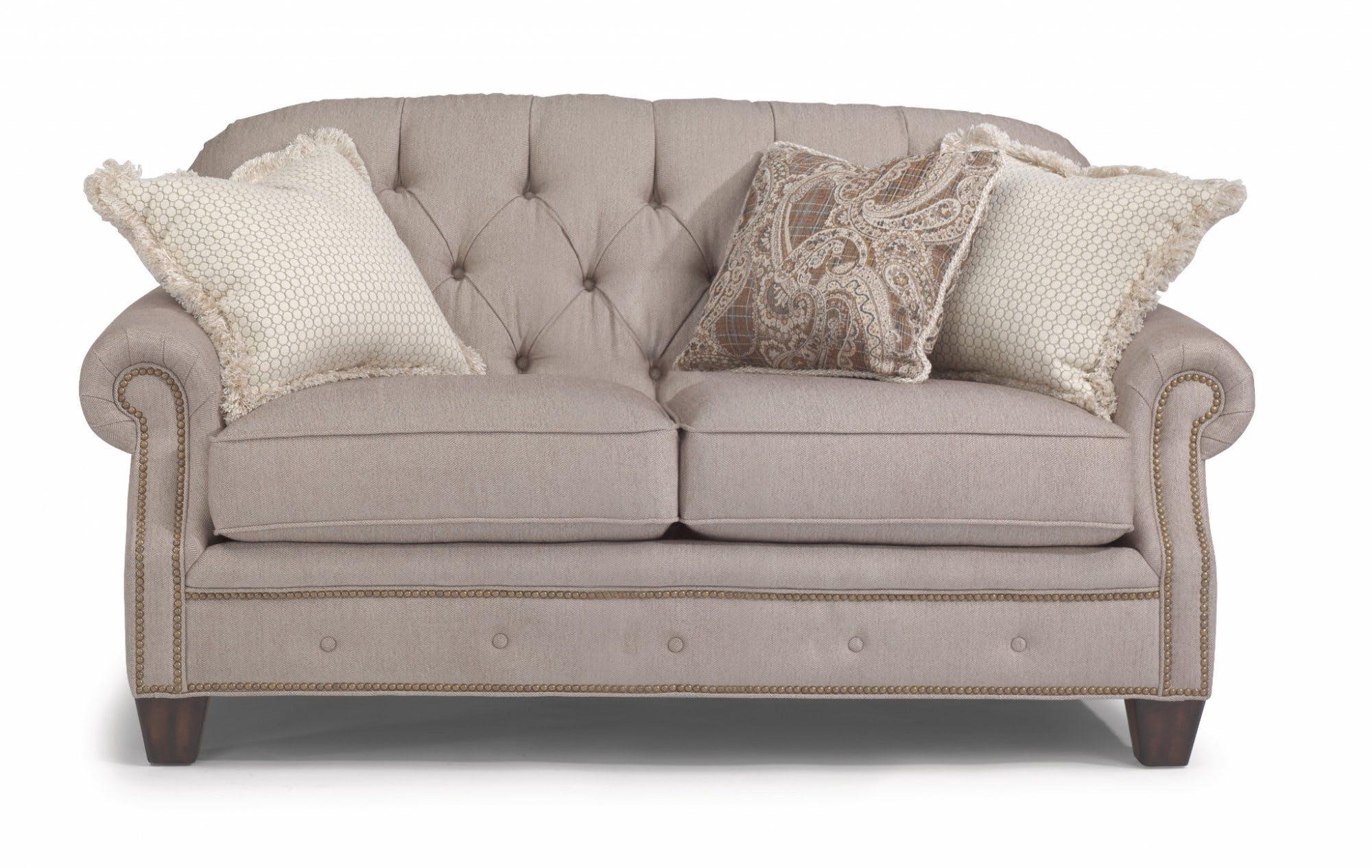 Flexsteel Living Room Fabric Loveseat 7386-20 - Kettle River