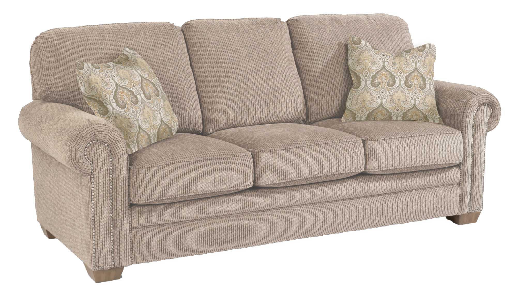Flexsteel Living Room Sofa 88 W/Nailhead Trim Harrison 436866
