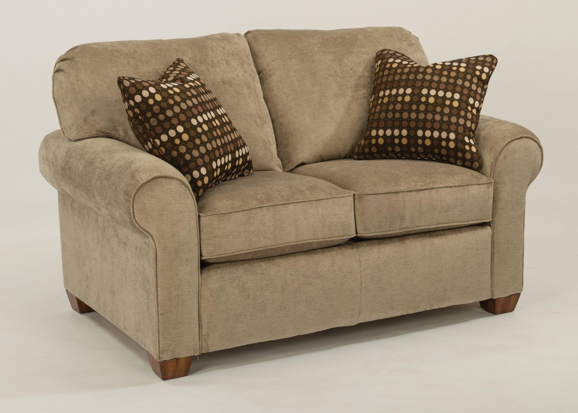 Flexsteel Living Room Fabric Loveseat 5535-20 - Patrick Furniture