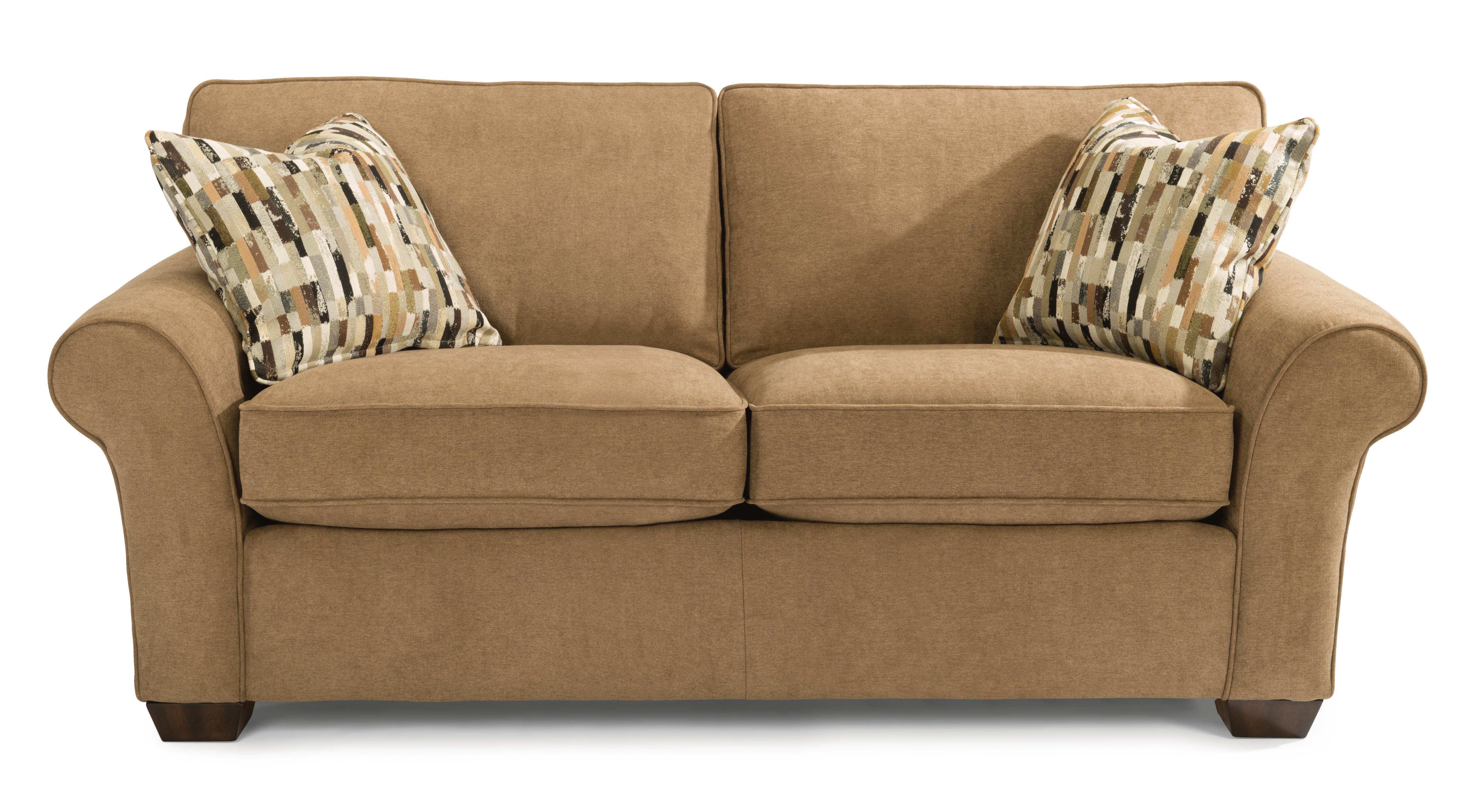 Flexsteel Living Room Fabric Loveseat 7305-20 - Furniture Plus Inc
