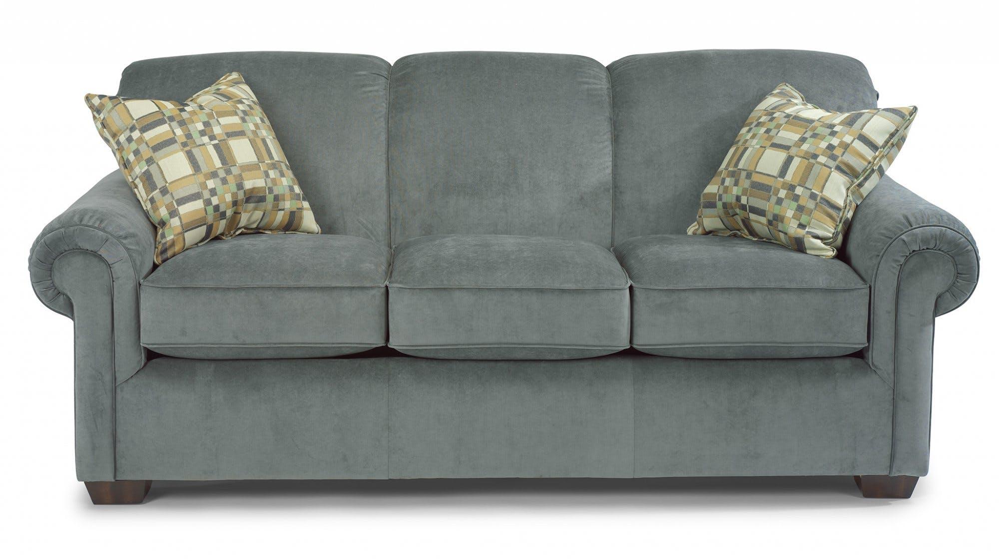 Flexsteel Living Room Fabric Sofa 5988-30 - Carol House Furniture