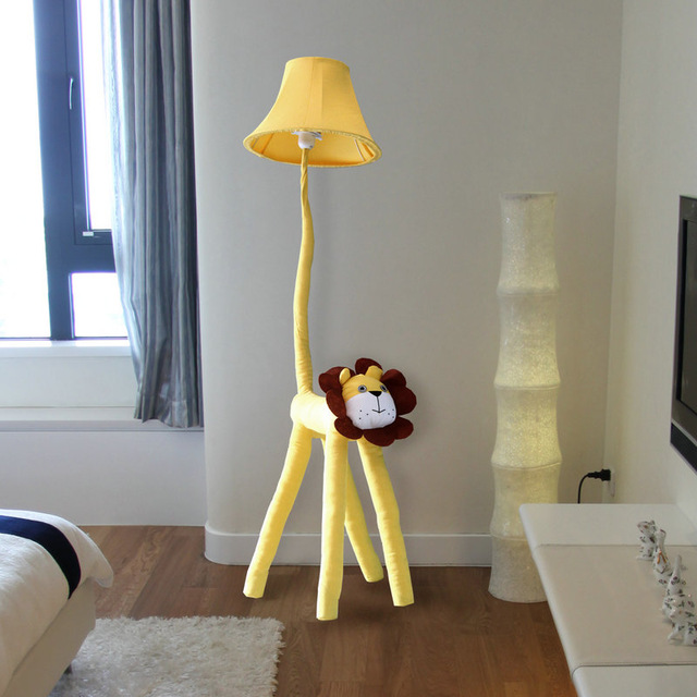 Funny Gift !!Floor Stand Lamps Bedroom Decoration lighting cloth