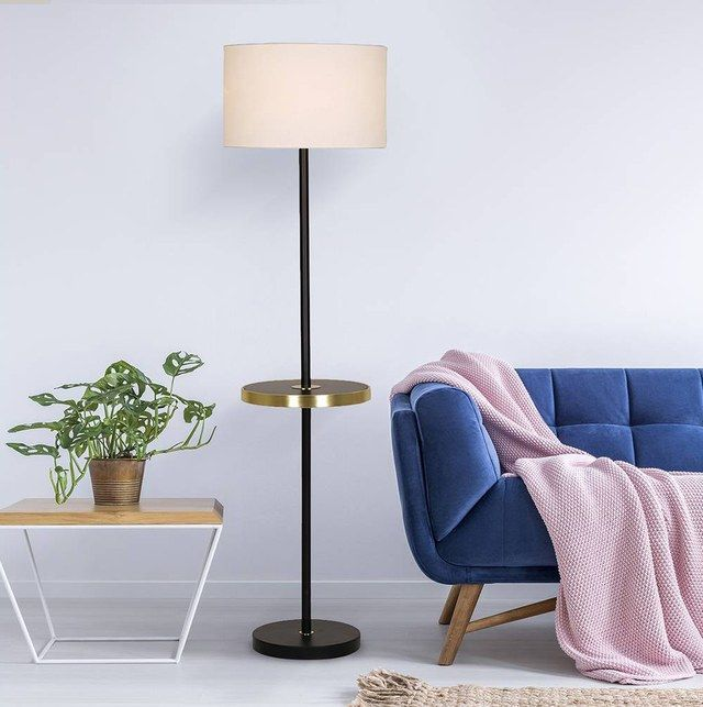 10 Floor Lamps with Tables Attached That Don't Look Like Your