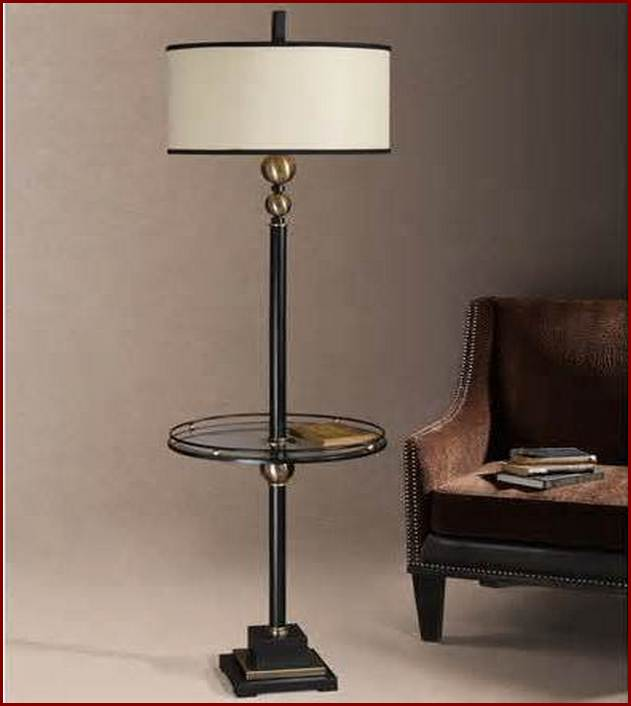 Floor Lamp With Table Attached design for floor - Lighting and