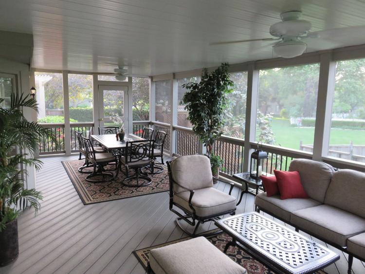 Screened Porches: Windows, Walls, Doors, Floors | St. Louis decks