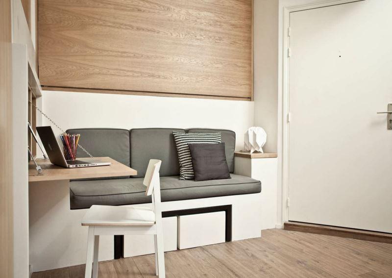 20 Space-Saving Fold-Down Desks
