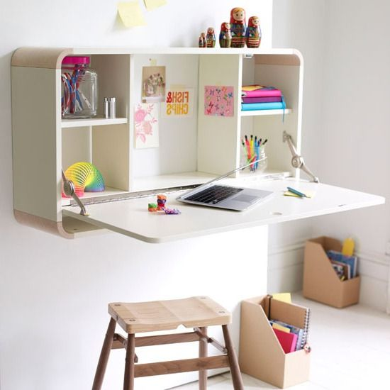 Folding Wall Desk Design