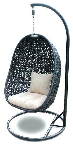 egg chair hanging indoor large outdoor wicker rattan free standing swing  perth