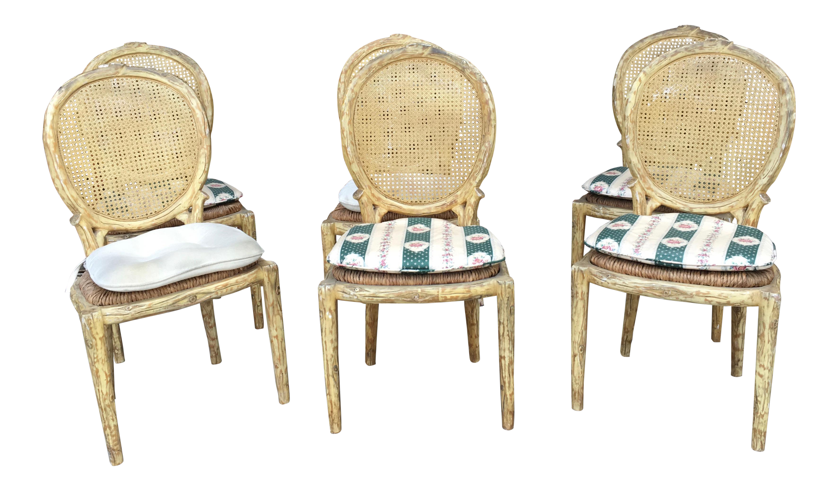 Vintage & Used French Country Dining Chairs | Chairish
